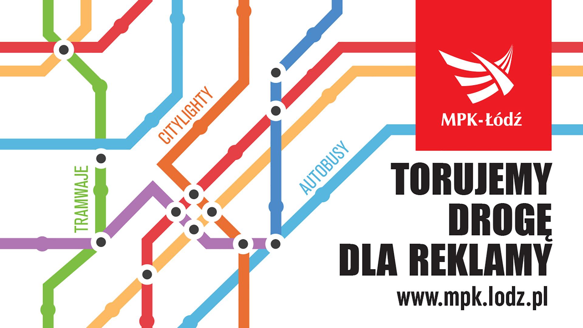 MPK Łódź - Reklama NSK 2020